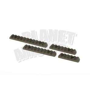 Element MPOE Polymer Rail Sections : Foliage Green