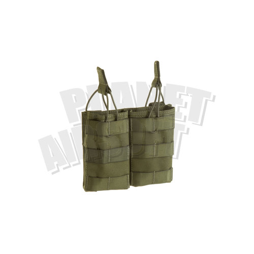 Invader Gear Invader Gear 5.56 Double Direct Action Mag Pouch : Olive Drap