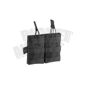 Invader Gear 5.56 Double Direct Action Mag Pouch : Zwart