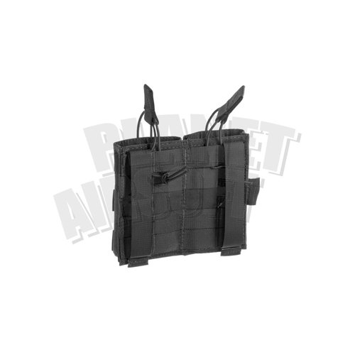 Invader Gear Invader Gear 5.56 Double Direct Action Mag Pouch : Zwart