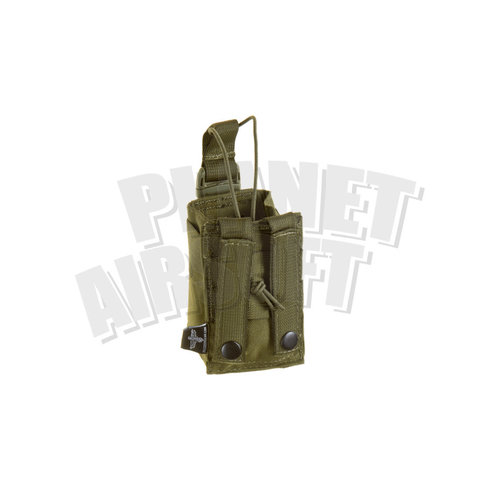 Invader Gear Invader Gear Radio Pouch : Olive Drap