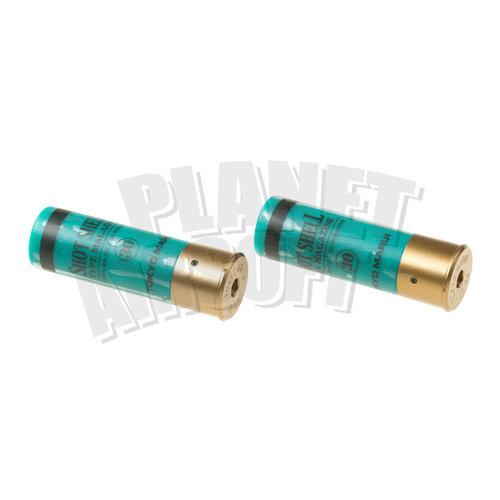 Tokyo Marui Shotgun Shells 2pcs 30rds : Groen