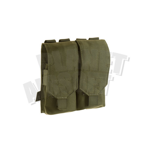 Invader Gear 5.56 2x Double Mag Pouch : Olive Drap