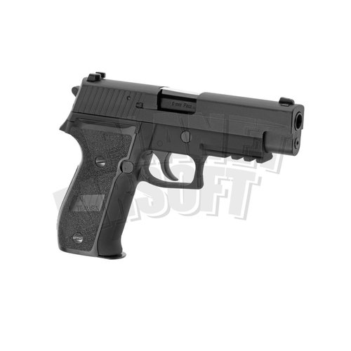 WE WE P226 Mk25 Navy Seals Full Metal GBB : Zwart
