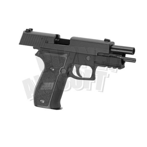 WE WE P226 Mk25 Navy Seals Full Metal GBB : Zwart