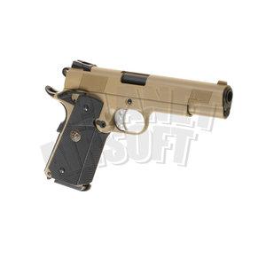 WE M1911 MEU Full Metal GBB : Desert