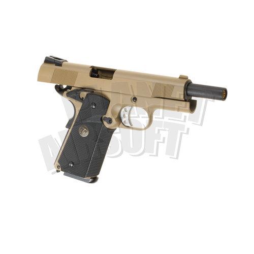 WE WE M1911 MEU Full Metal GBB : Desert