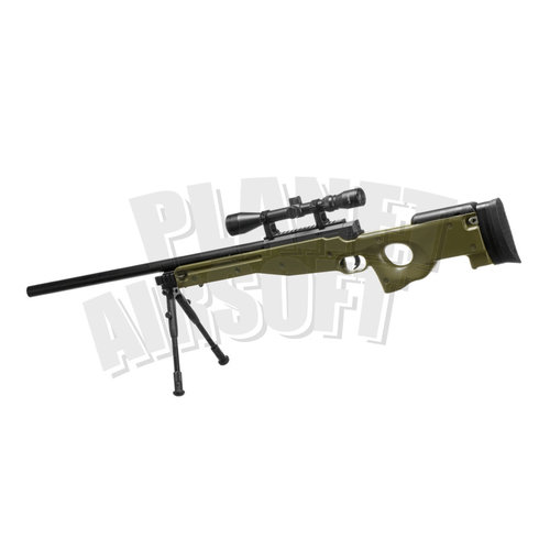 WELL Well L96 Sniper Rifle Set Upgraded : Olive Drap