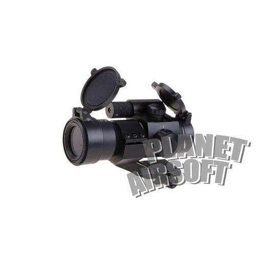 Theta Optics Theta Optics Battle red dot sight : Zwart