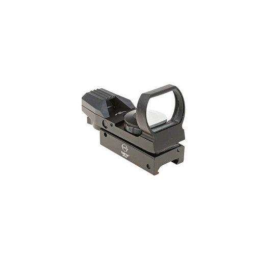 Theta Optics Open red dot sight : Zwart