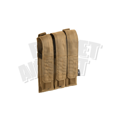 Invader Gear Invader Gear MP5 / MP7 Triple Mag Pouch : Coyote Bruin