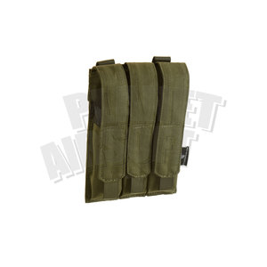 Invader Gear MP5 / MP7 Triple Mag Pouch : Olive Drap