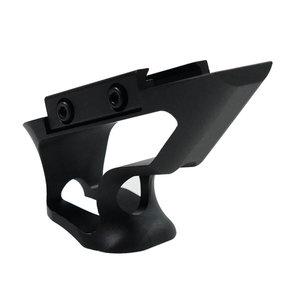 Metal CNC Picatinny Short Angled Grip ( Black )