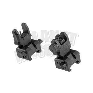 FMA FMA Gen 3 Flip-Up Sights : Zwart