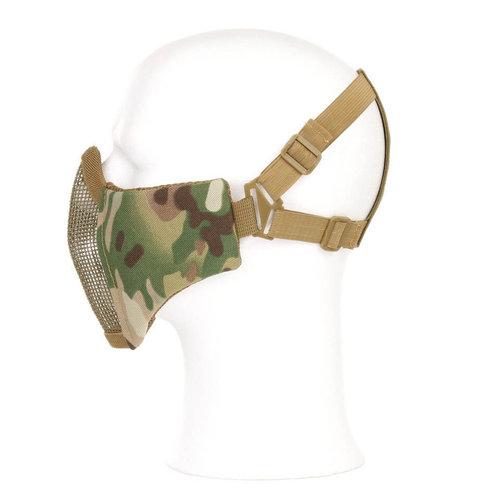 Invader Gear Invader Gear Mk.II Steel Half Face Mask : Olive Drap