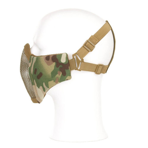 Invader Gear Invader Gear Mk.II Steel Half Face Mask : Coyote Bruin