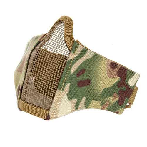 Invader Gear Invader Gear Mk.II Steel Half Face Mask : Multicam