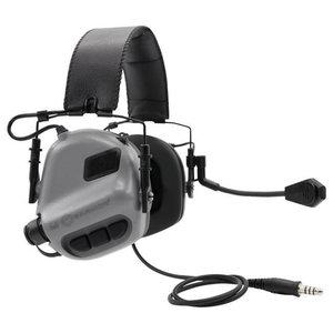 Earmor M32 MOD1 Tactical Hearing Protection Ear-Muff : Grijs