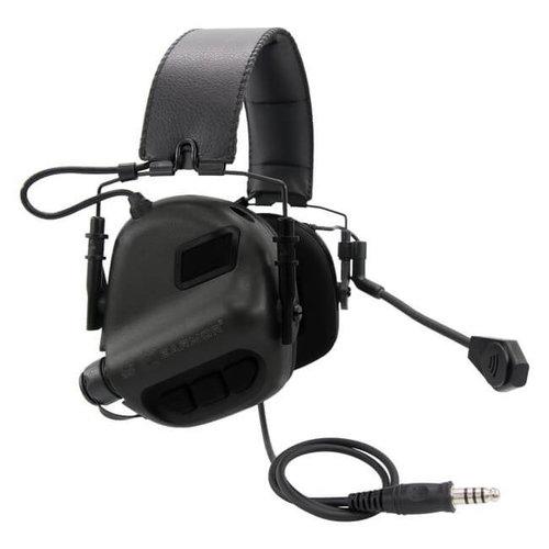 Earmor Earmor M32 MOD1 Tactical Hearing Protection Ear-Muff : Zwart