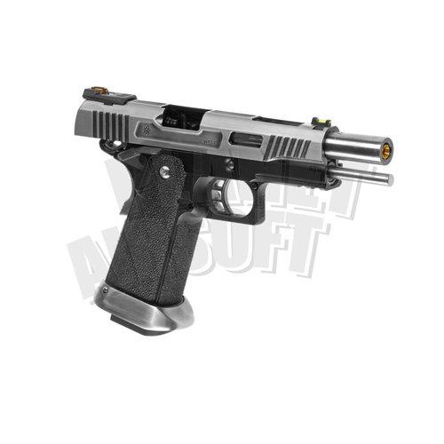 WE WE Hi-Capa 5.1 Force Full Metal GBB : Chroom