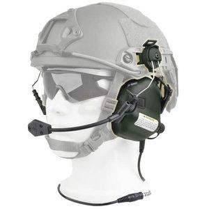 Earmor Earmor M32H MOD1 Tactical Hearing Protection Helmet Version Ear-Muff : Olive Drap
