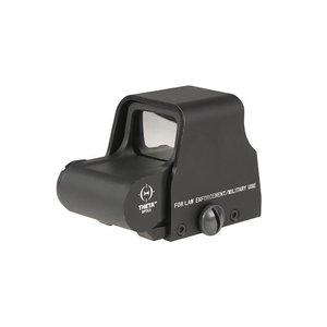 Theta Optics XTO Red Dot Sight Replica : Zwart