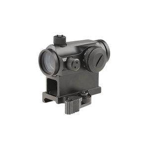 Theta Optics Compact III Reflex Sight Replica (High-Profile + Low-Profile Mounts) : Zwart