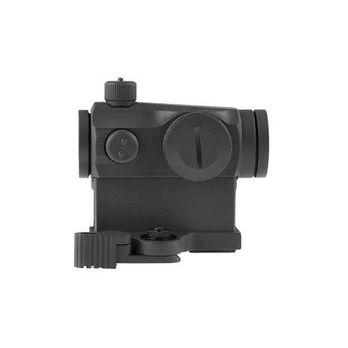 Theta Optics Theta Optics Compact III Reflex Sight Replica (High-Profile + Low-Profile Mounts) : Zwart