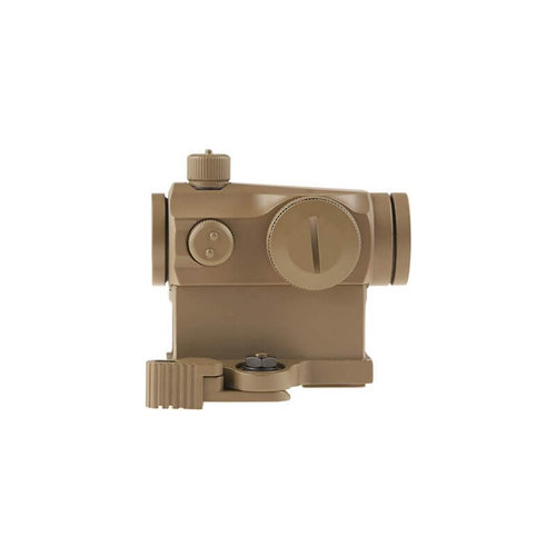 Theta Optics Compact III Reflex Sight Replica (High-Profile + Low-Profile Mounts) : Desert
