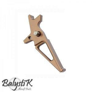 Balystik CNC Trigger for M4 : Chroom
