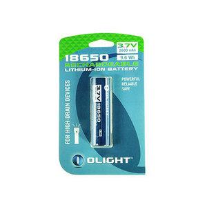 Olight 18650 battery 2600mAh for M-serie