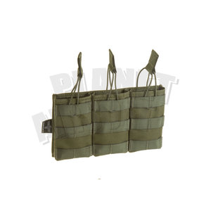 Invader Gear 5.56 Triple Direct Action Mag Pouch : Olive Drap