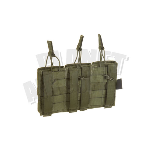 Invader Gear Invader Gear 5.56 Triple Direct Action Mag Pouch : Olive Drap