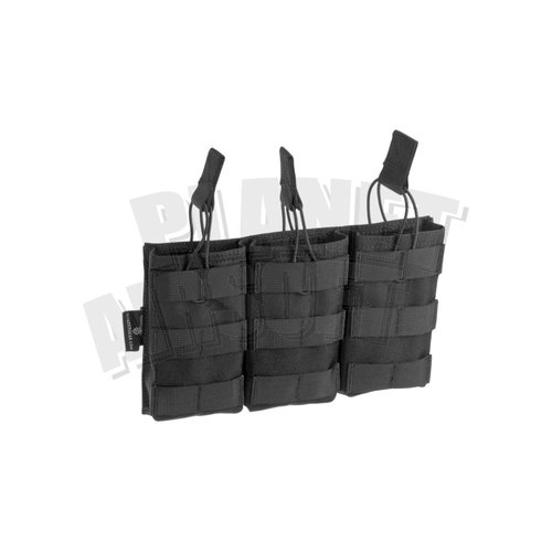 Invader Gear Invader Gear 5.56 Triple Direct Action Mag Pouch : Zwart