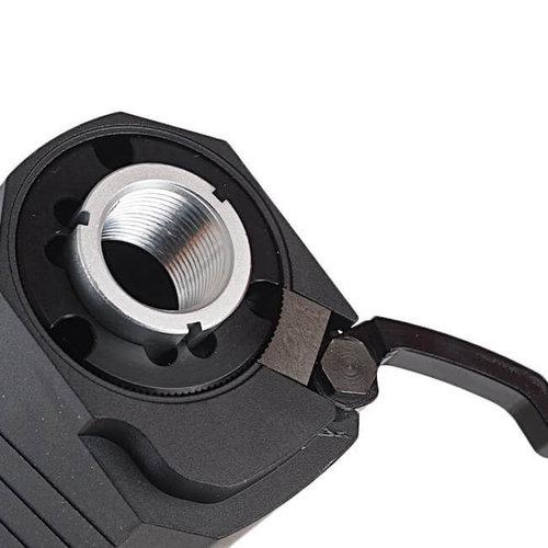 SilencerCo SilencerCo Osprey .45cal Suppressor 14mm CW : Dark Earth : Zwart