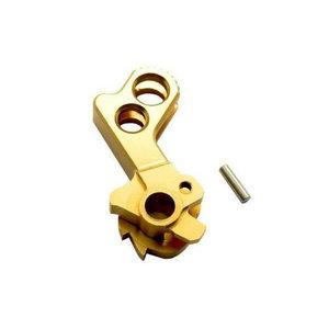 UAC Match Grade Stainless Steel Hammer for Hi-Capa (Type D) : Goud