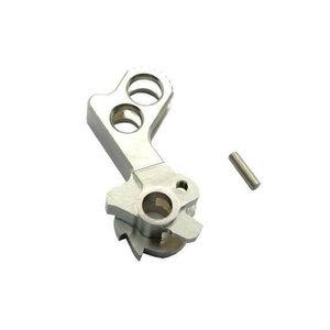 UAC Match Grade Stainless Steel Hammer for Hi-Capa (Type D) : Chroom