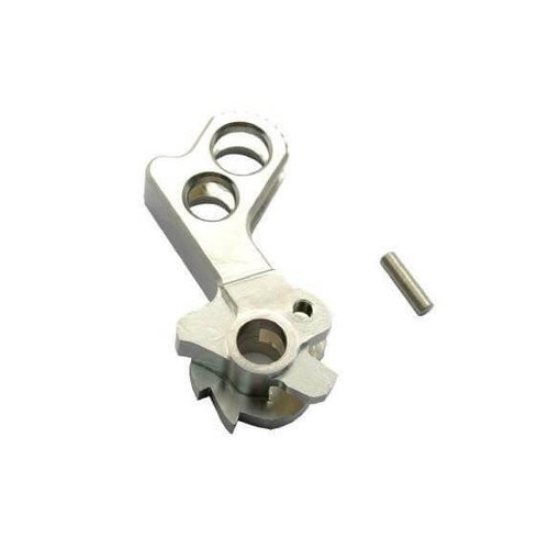 UAC UAC Match Grade Stainless Steel Hammer for Hi-Capa (Type D) : Chroom