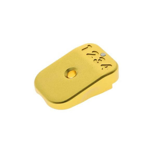 UAC UAC Tactical Magbase Type B for Hi-Capa : Goud
