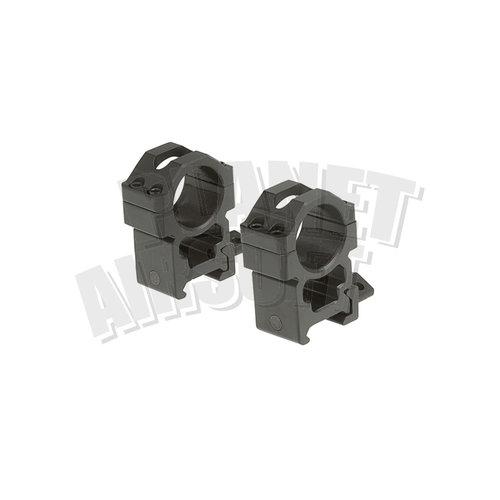 Leapers / UTG Leapers/UTG 25.4mm CNC Mount Rings High