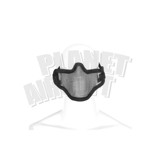 Invader Gear Invader Gear Steel Half Face Mask : Zwart