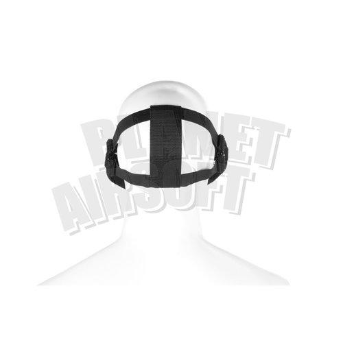 Invader Gear Invader Gear Steel Half Face Mask : Zwart