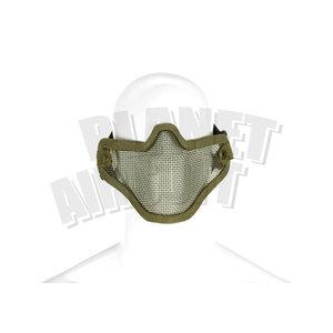 Invader Gear Steel Half Face Mask : Olive Drap