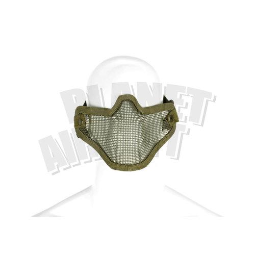 Invader Gear Invader Gear Steel Half Face Mask : Olive Drap