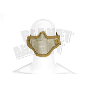 Invader Gear Invader Gear Steel Half Face Mask : Coyote Bruin