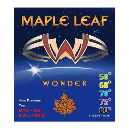 Maple Leaf Wonder Bucking 60°