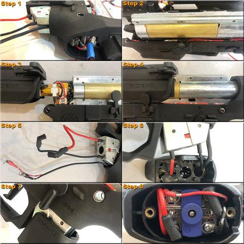MAXX Model CNC Aluminum Hopup Chamber MI - SPORT for w/ LED