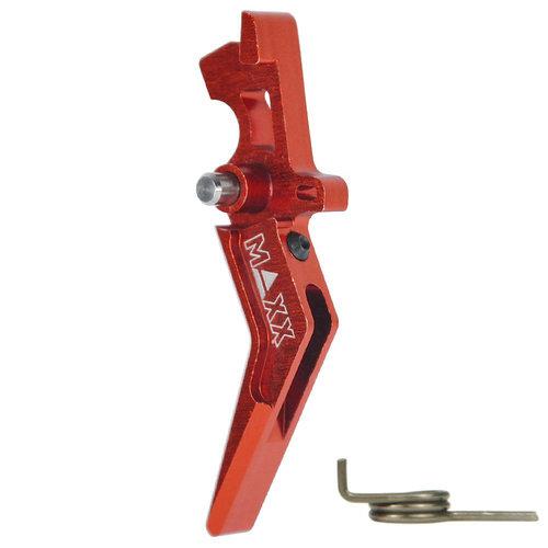 MAXX Model MAXX Model CNC Aluminum Advanced Trigger (Style A) : Rood