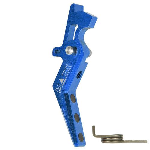 MAXX Model MAXX Model CNC Aluminum Advanced Trigger (Style A) : Blauw