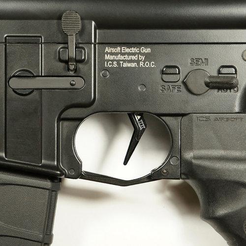 MAXX Model CNC Aluminum Advanced Trigger (Style A) : Zwart